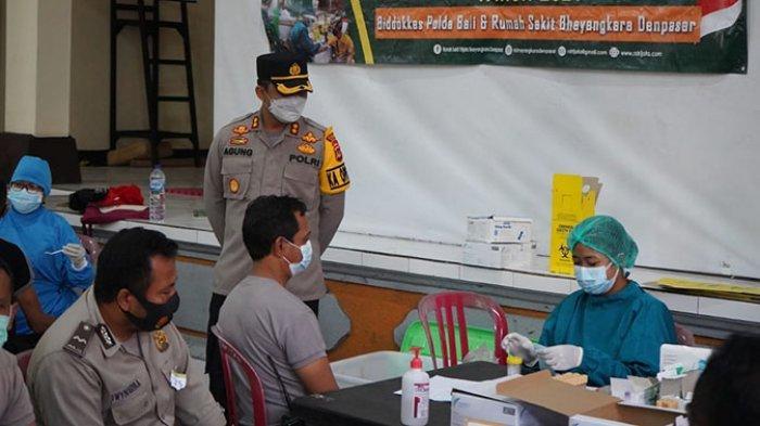 200 Personel Polres Bangli Jalani Pemeriksaan Kesehatan