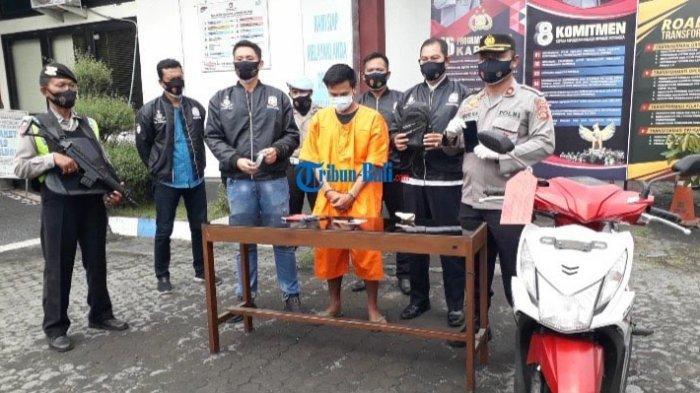 Emil Gondol Tas Saat Korban Tertidur Pulas di Gilimanuk Jembrana Bali