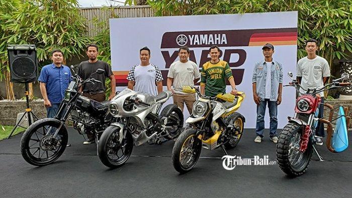 Empat Builder Bali Akhirnya Selesaikan Modifikasi XSR 155 dalam Yamaha Yard Built