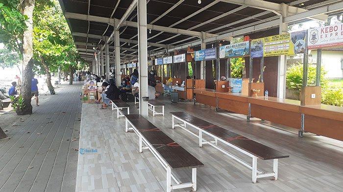 Empat Hari Jelang Hari Raya Galungan, Kondisi Pelabuhan Sanur Denpasar Masih Lengang