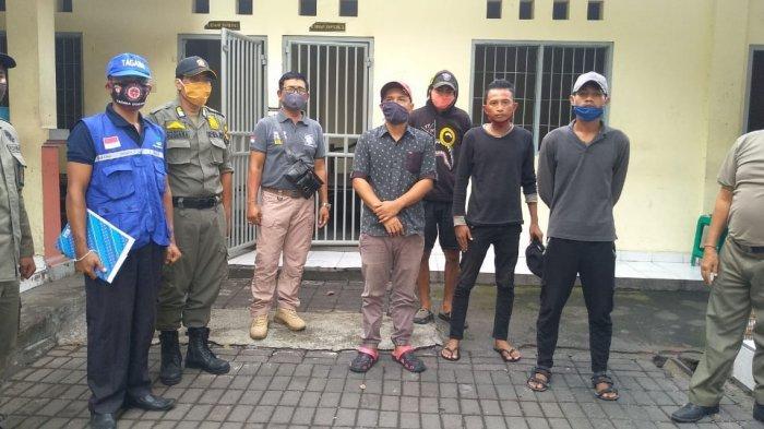 Lolos di Gilimanuk Tanpa Rapid Test, Satpol PP Denpasar dan Dinas Sosial Pulangkan 4 Orang ke Jawa