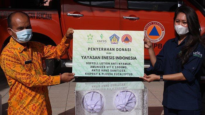 Cegah Kasus DBD di tengah Pandemi, Enesis Group berikan Bantuan ke BNPB Bali
