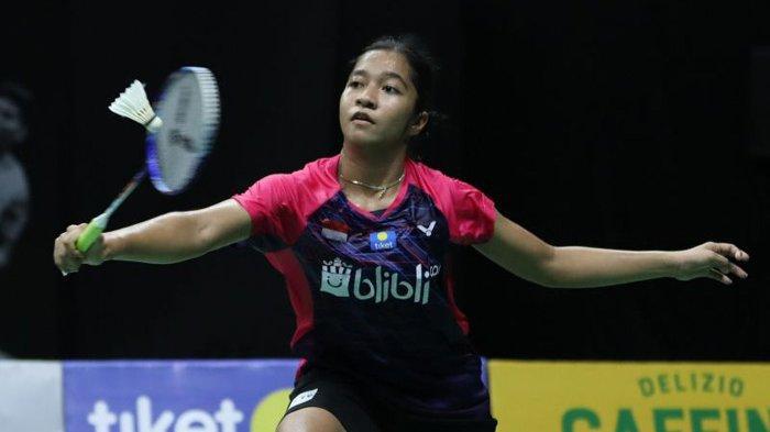 Indonesia Runner-up Grup A, Putri Puas Beri Perlawanan Ketat pada Sayaka Takahashi
