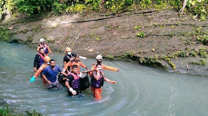 Setelah Sang Kakak, Adik yang Tenggelam di Sungai Yeh Mekecir Dauh Tukad Akhirnya Ditemukan