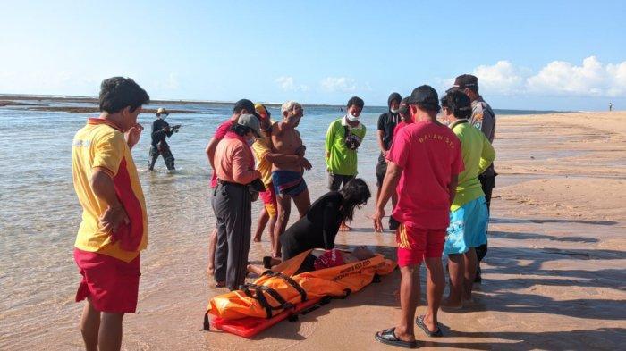 BREAKING NEWS - Pensiunan Dokter Meninggal Dunia Usai Snorkeling di Pantai Ayodya Badung