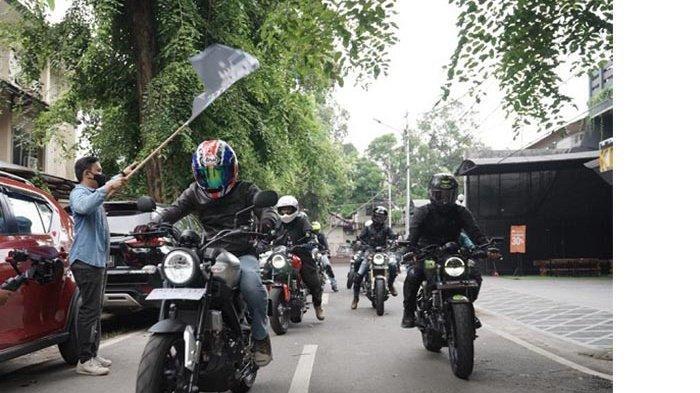 XSR 155 Motoride, Keliling Kota Sambil Nikmati Custom Lifestyle