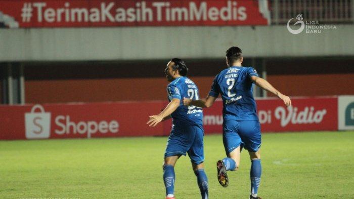 HASIL Persib Vs Persebaya, Gol Cepat Ezra Walian dan Drama 5 Gol, Persib ke Semifinal Piala Menpora