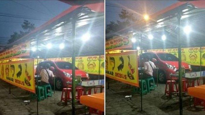 Mobil Parkir di Dalam Tenda Warung Pecel Lele Viral, Wanita Ini Minta Maaf & Panik Dikejar Leasing