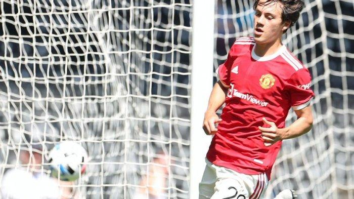 Facundo Pellistri mencetak gol kedua Manchester United