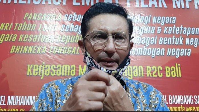 Datang ke Bali, Fadel Muhammad Ingatkan Ancaman Kelompok yang Ingin Meninggalkan Indonesia