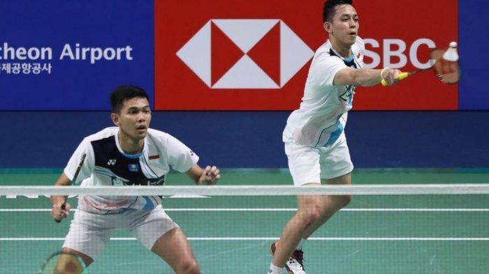 Hasil Korea Open, Fajar/Rian Raih Gelar Juara Ganda Putra Setelah Menekuk Pasangan Jepang