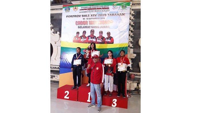Febrianti Raih 4 Medali Emas Berturut-Turut di Ajang Porprov Tabanan 2019
