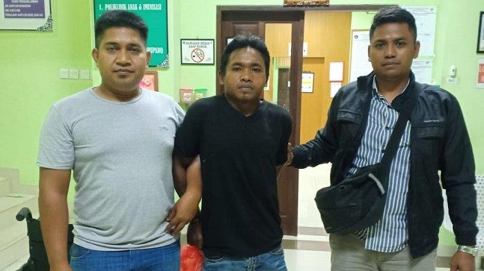 Berusaha Kabur, Buronan Pencuri HP Ditembak Reskrim Polsek Abiansemal