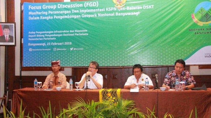 Diusulkan ke Unesco Tahun 2020, Kemenpar Matangkan Persiapan Geopark Banyuwangi