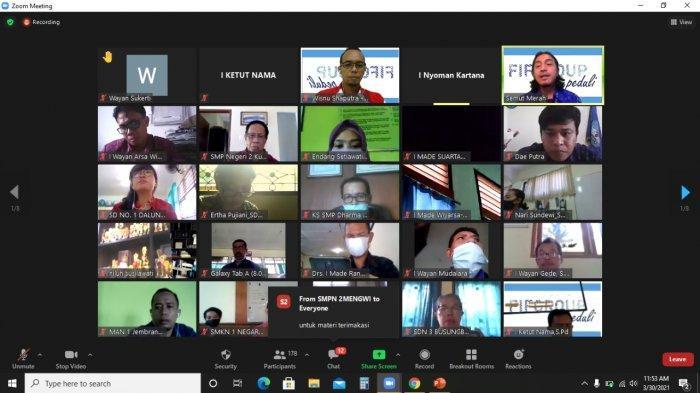 Peduli Terhadap Pendidikan, FIFGROUP Cabang Denpasar Melakukan Kegiatan Pelatihan Guru Secara Online