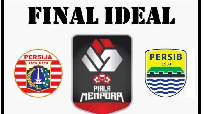 Sedang Berlangsung, Link Live Streaming Persija Vs Persib di Final Piala Menpora 2021