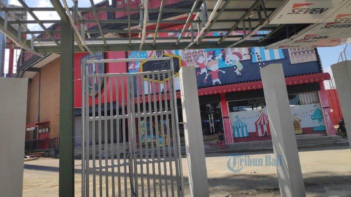 18 Pekerja Positif Covid-19, Proyek Stadion Dipta Dijaga Ketat oleh Satgas Covid-19 Gianyar