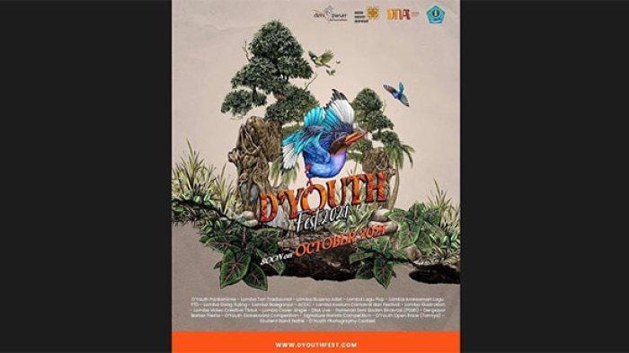 Kreatif di Tengah Pandemi, D'Youth Festival 2021 Hadir sebagai Wujud Kreativitas Anak Muda di Bali