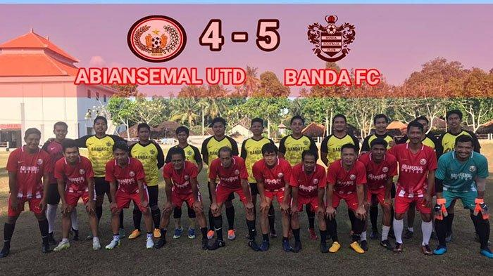 Pinjam Dua Pemain Tuan Rumah, Banda FC Menang Tipis di Kandang Abiansemal United
