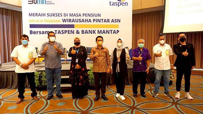 PT Taspen Hadirkan Kembali Program Wirausaha Pintar ASN, di Bali Diikuti 150 Peserta