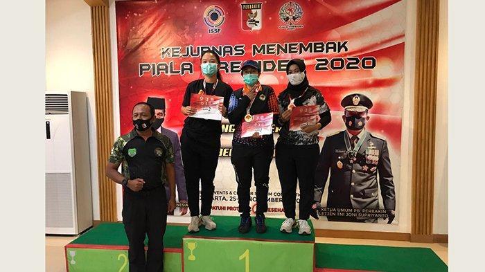 Sarah Ayu Tamaela, Wanita Kelahiran Denpasar Raih Juara 2 pada Kejurnas Menembak Piala Presiden 2020