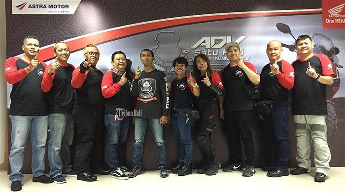 Astra Motor Bali Ajak Komunitas Honda Touring ADV Satu Hati Jelajah Nusantara