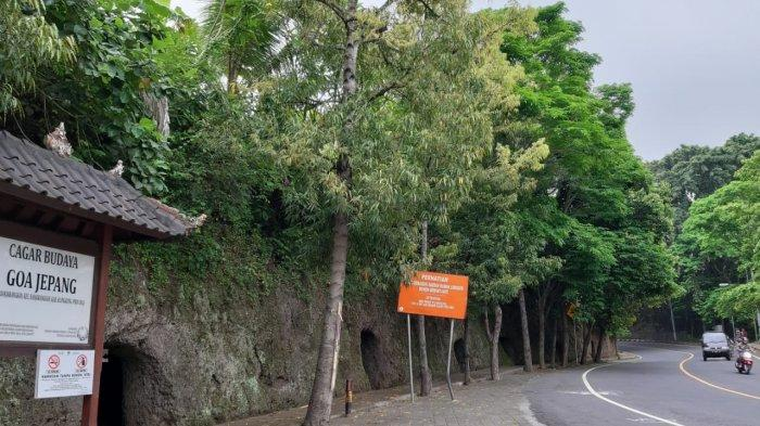 Penampakan Miris Goa Jepang Klungkung, Rumput Liar Mulai Tumbuh, Keran Belum Terpasang