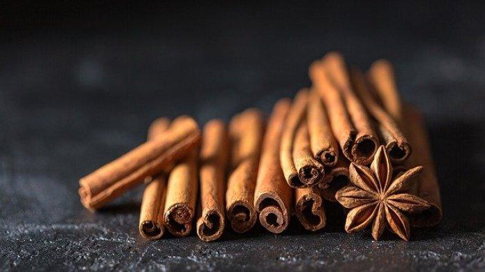 Foto ilustrasi kayu manis untuk pengobatan