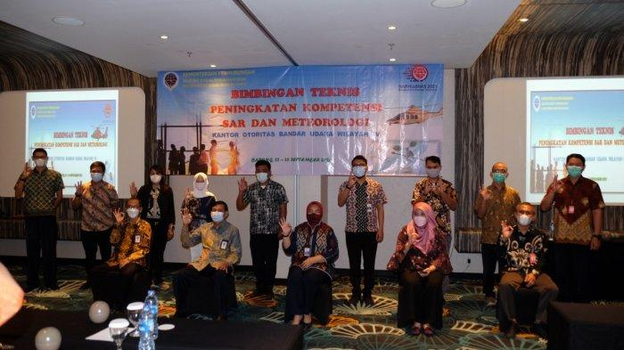 Tingkatkan Kompetensi, Otban Wilayah IV Gelar Bimtek SAR dan Meteorologi di Badung Bali