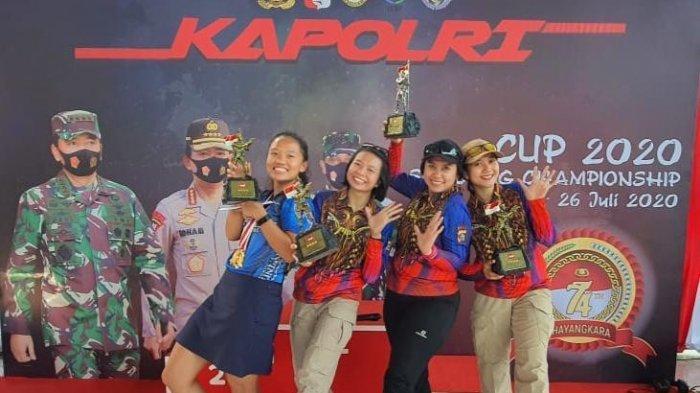 Atlet Tembak Bali Sarah Tamaela Raih Juara I Kategori Tembak Reaksi di Kapolri Cup 2020