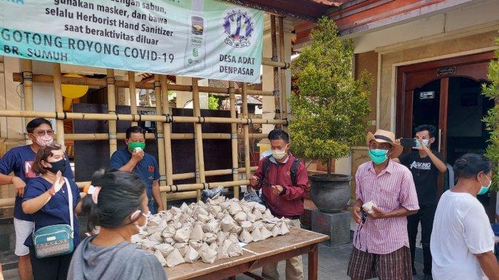 Selama Pandemi Covid-19, Dapur Umum SOS Kota Denpasar Sudah Bagikan 28.000 Nasi Bungkus