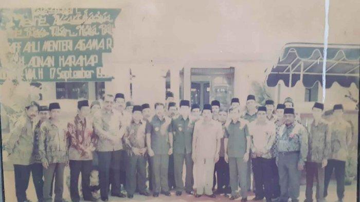 Foto Peresmian Masjid Agung Asasuttaqwa sekitar tahun 1990an