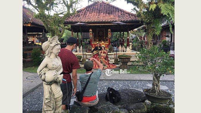 Bangunan Kuno Peninggalan Raja, Puri Lanang Sibang Kaja Badung Jadi Lokasi Favorit Foto Prewedding
