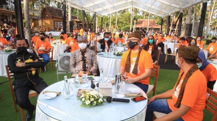 Jaring Kota Kreatif Indonesia Gaungkan 'Bergegas Bergerak Bersama' dari Banyuwangi