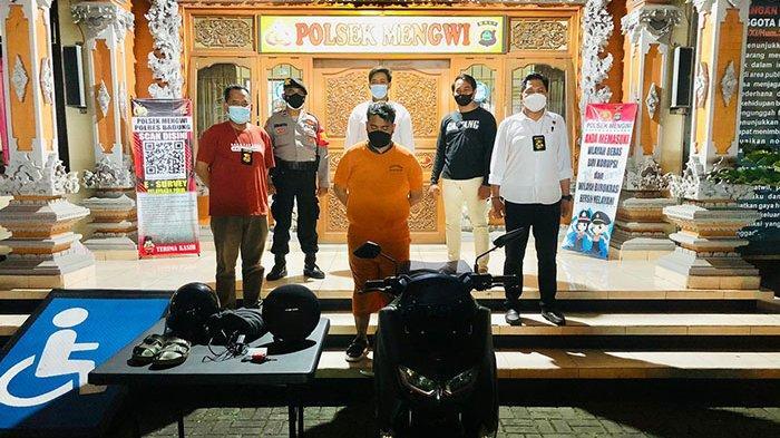 Sepi Job untuk Make Up Artist, Francisco Nekat Mencuri Sound System di Wilayah Mengwi Badung