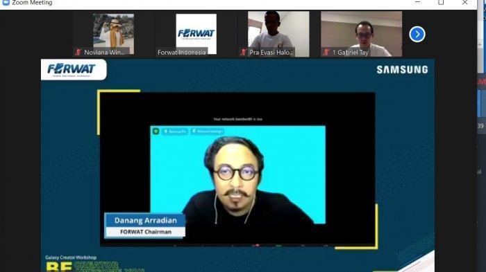 Forum Wartawan Teknologi & Samsung Gelar Workshop 'Galaxy Creator Workshop Be Creator Awesome You'