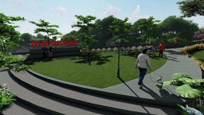 Lahan Kosong di Atas Jembatan Tegenungan-Sukawati Akan Disulap Jadi Taman