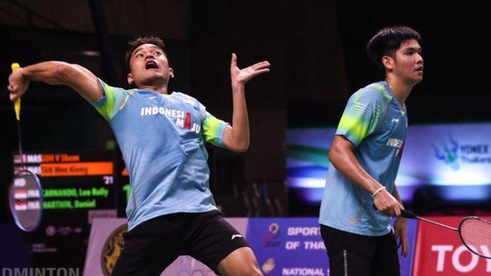 Ini Hasil Lengkap Thomas Cup 2021, Tim Badminton Putra Indonesia Libas Aljazair 5-0, Leo/Daniel Top