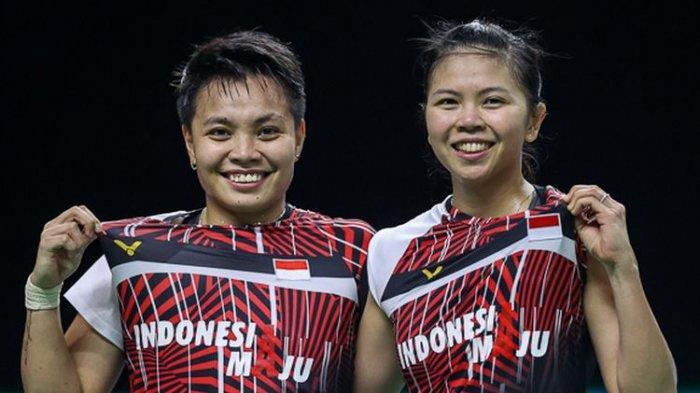 Hasil BWF World Tour, Greysia/Apriyani Tekuk Wakil Malaysia dan Pimpin Klasemen Grup A