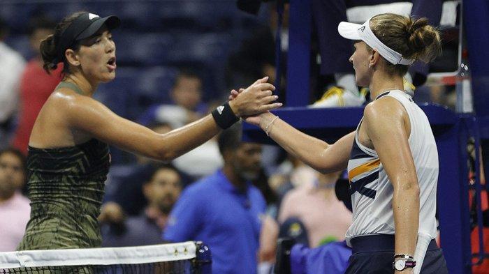 Krejcikova Lolos ke Perempat Final US Open Setelah Singkirkan Muguruza