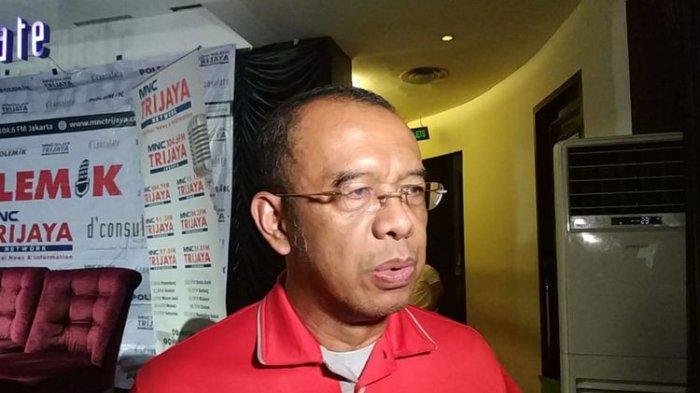 Sekretaris Kementerian Pemuda dan Olahraga (Kemenpora) Gatot S Dewa Broto saat di bilangan Menteng, Jakarta Pusat, Sabtu (5/1/2019).