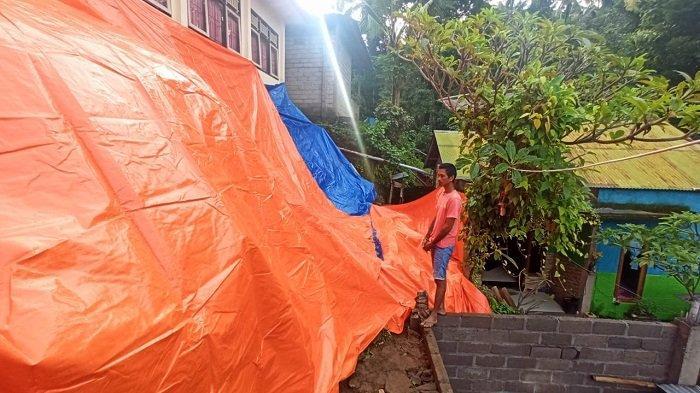 Senderan SDN 6 Tamblang Buleleng Jebol, Tutup Akses Rumah Sumerta