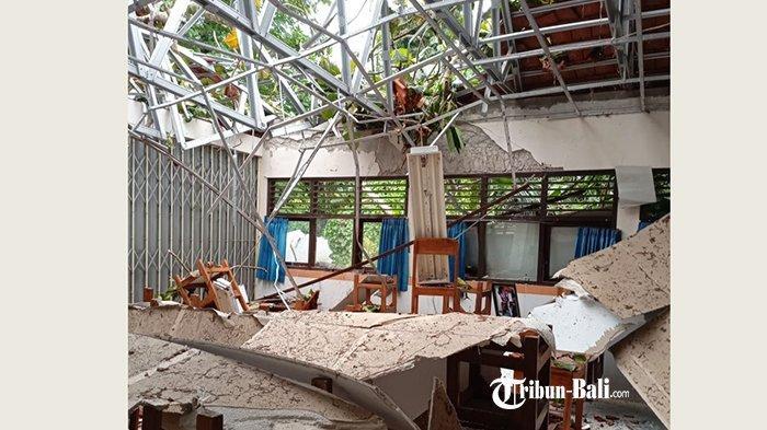 Disdikpora Badung Butuh Anggaran Rp500 Juta untuk Perbaiki Gedung di SD 2 Sempidi