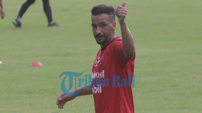 Gelandang Bali United, Diego Assis Kabarkan Kondisi Terbarunya Usai Cedera Hamstring