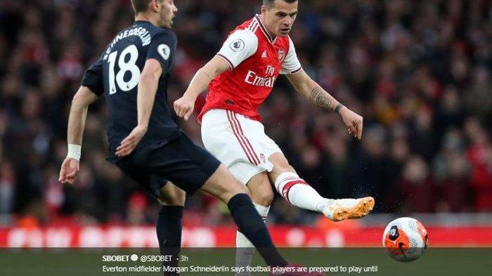 Hasil Liga Inggris dan Fakta Duel Burnley vs Arsenal, Granit Xhaka Dinobatkan Raja Blunder Terbaik