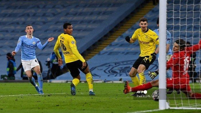 Update Hasil Liga Champions: Manchester City Menang Lewat Gol Menit Akhir Foden, Dortmund Merana