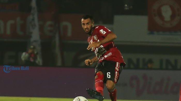 Gelandang Bali United, Brwa Nouri Optimis Tatap Uji Coba di Jawa Jelang Piala AFC