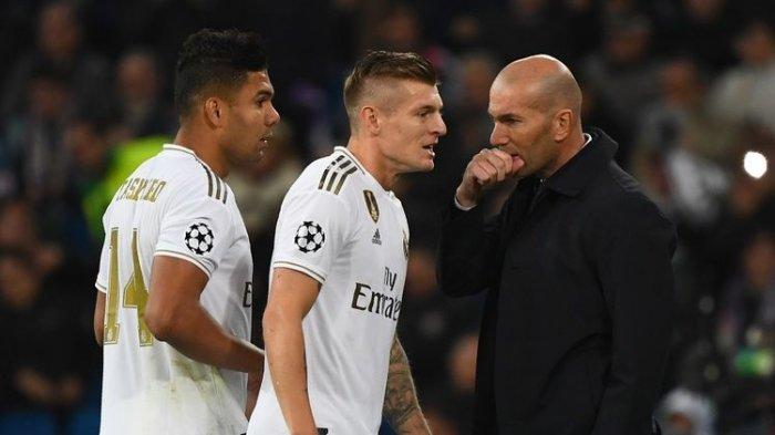 JADWAL Perempat Final Liga Champions, Real Madrid Vs Liverpool, Zidane: Lawan Liverpool Merepotkan