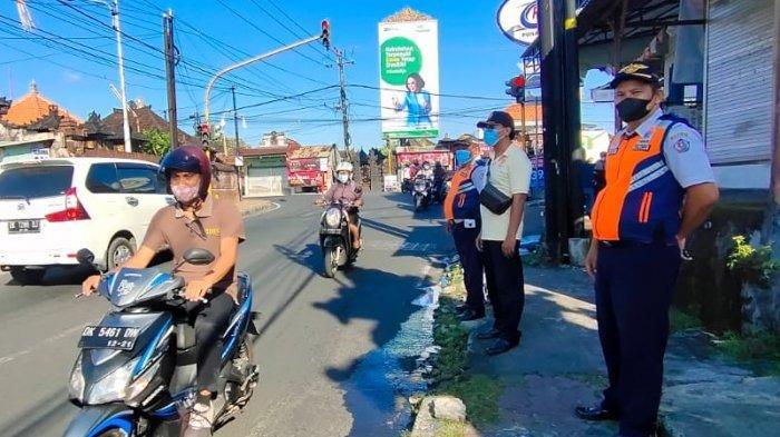 Gelar Sidak Masker di Kelurahan Padangsambian Denpasar, 8 Orang Pelanggar Terjaring