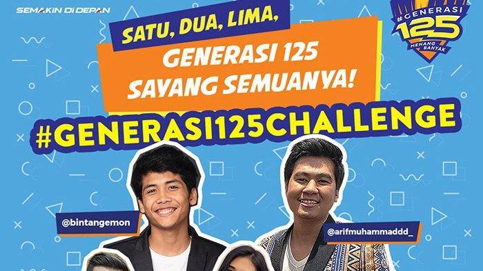 Ini Dia Yamaha #Generasi125Challenge Kolaborasi @bintangemon bersama influencer Indonesia Lainnya